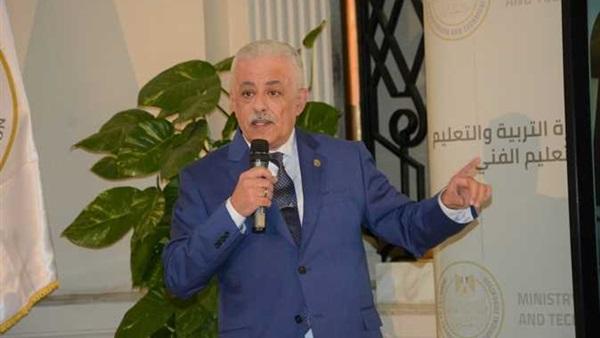 وزير التعليم - إتاحة امتحانات الثانوية العامة بموقع الوزارة 21311