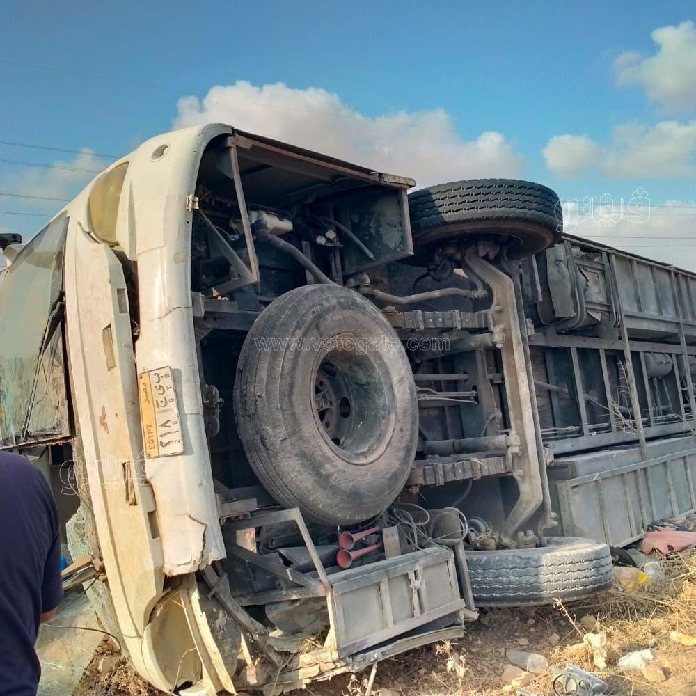 عاجل - حادث مأساوى لأتوبيس يقل أقباط لرحلة ووقوع ضحايا و إصابات 78910