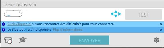 Impossible d'envoyer - Demande un scan de Code barre Bad11