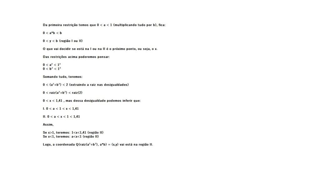 UFMG (2007) - Plano Cartesiano  Geo_an12
