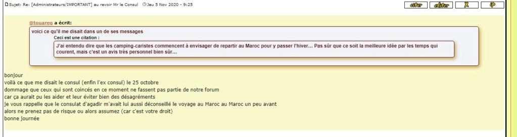 [Maroc/Le Bateau] Français bloqués au Maroc et vice et versa, édition 2021 Consei10