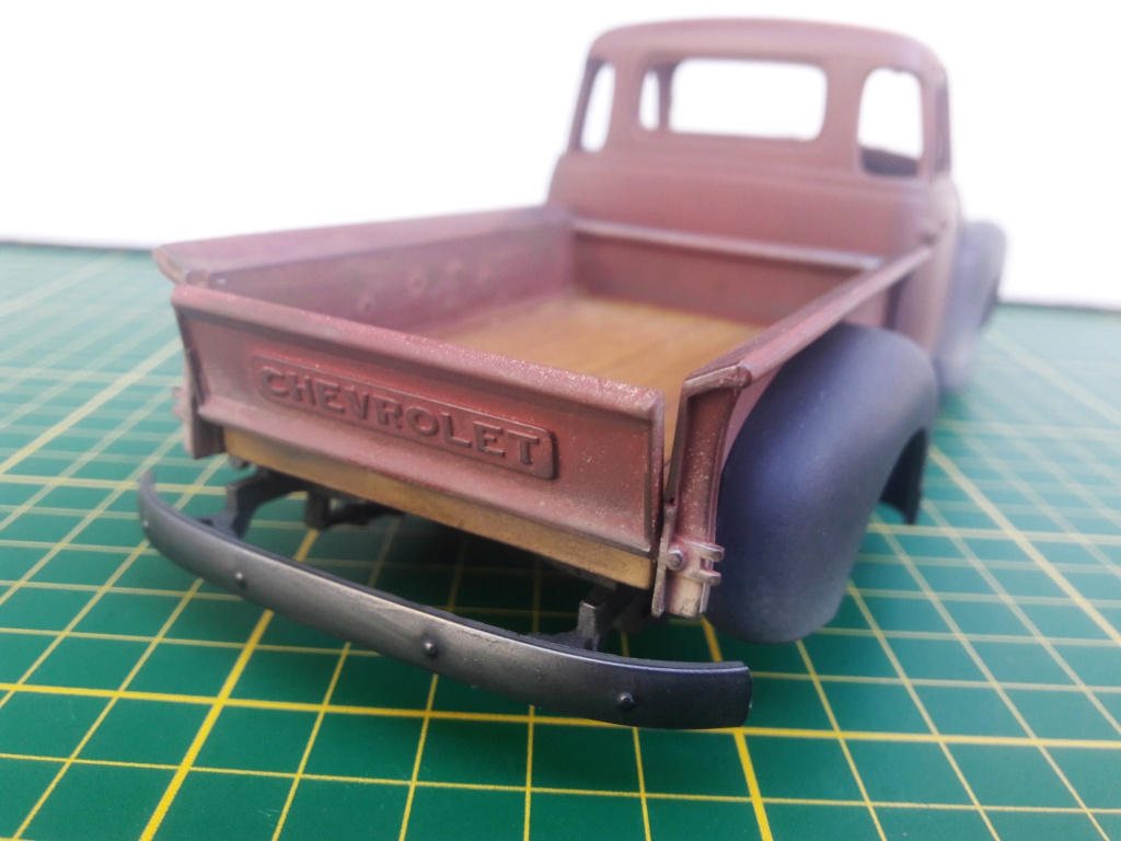 { AMT] 1/25 Chevrolet Pickup 3100 1950  (photos finales) 20191146