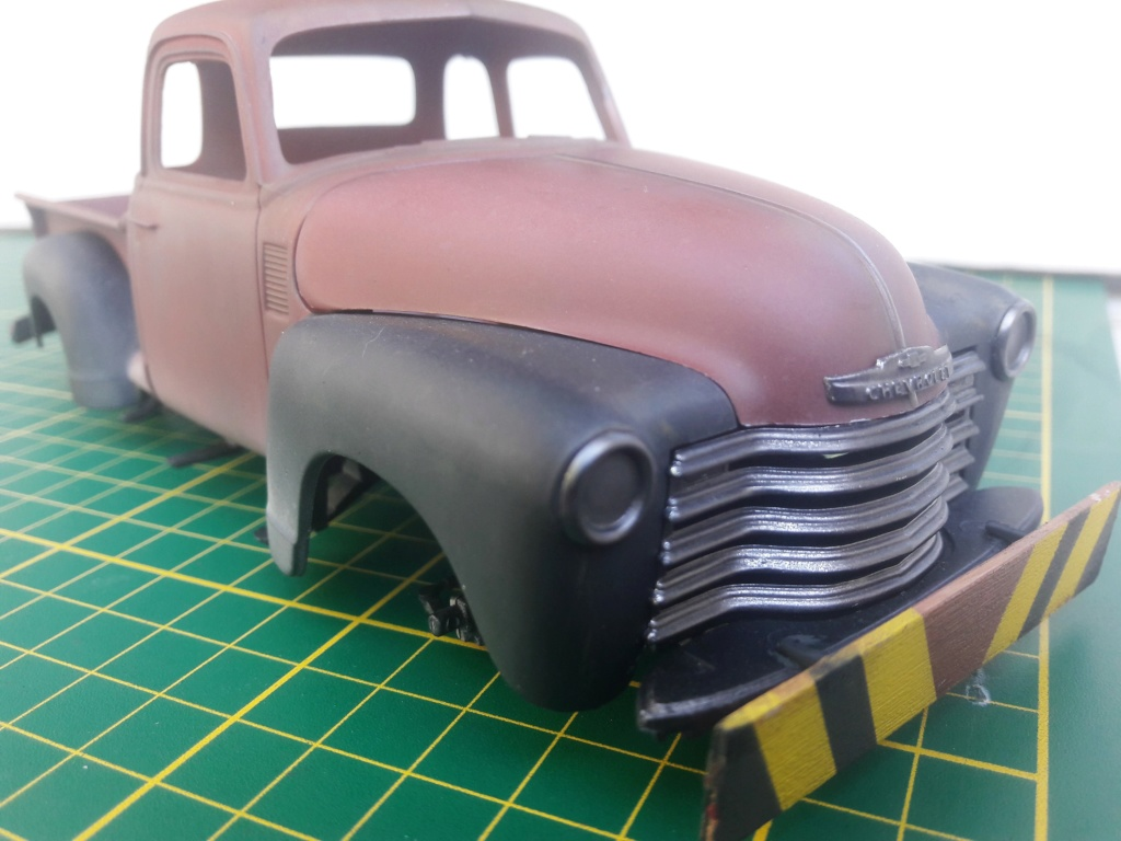 { AMT] 1/25 Chevrolet Pickup 3100 1950  (photos finales) 20191147