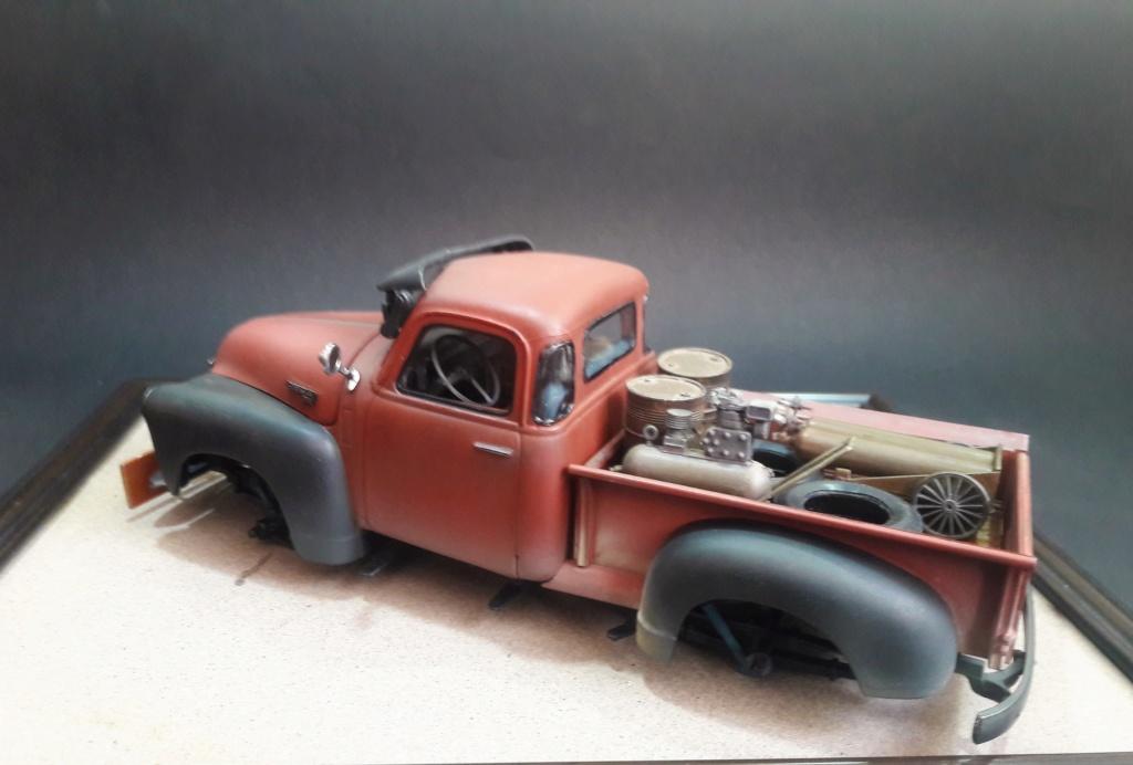 { AMT] 1/25 Chevrolet Pickup 3100 1950  (photos finales) 20191149