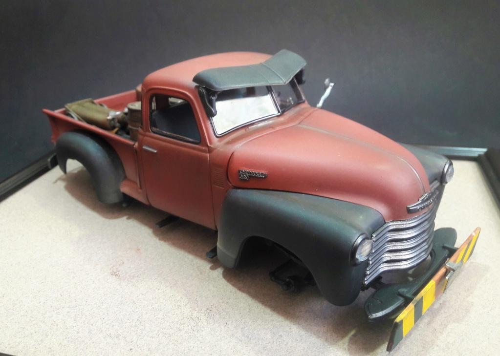 { AMT] 1/25 Chevrolet Pickup 3100 1950  (photos finales) 20191151