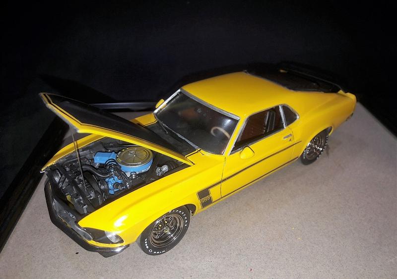 [ Revell ] 1/25  Mustang Boss 302  20191216
