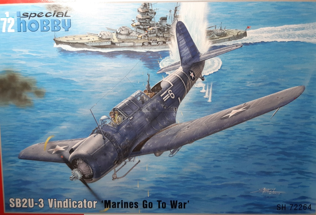 [Special Hobby] Vindicator Bataille de Midway 1/72  (peinture) 20201053