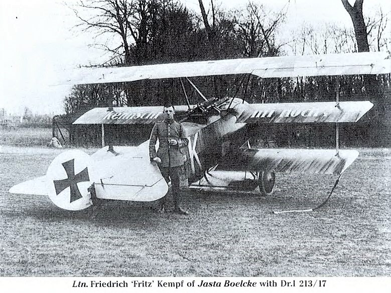 [Eduard] 1/48  Fokker DR. 1  539dc210