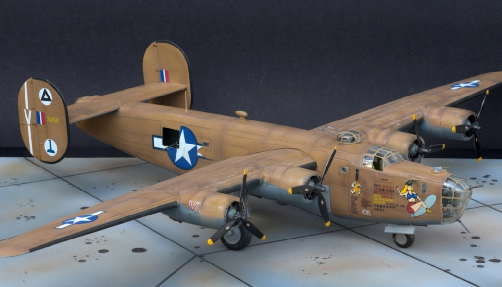[Eduard] B24 D Liberator Raid sur Ploesti 08.1943 _igp0448