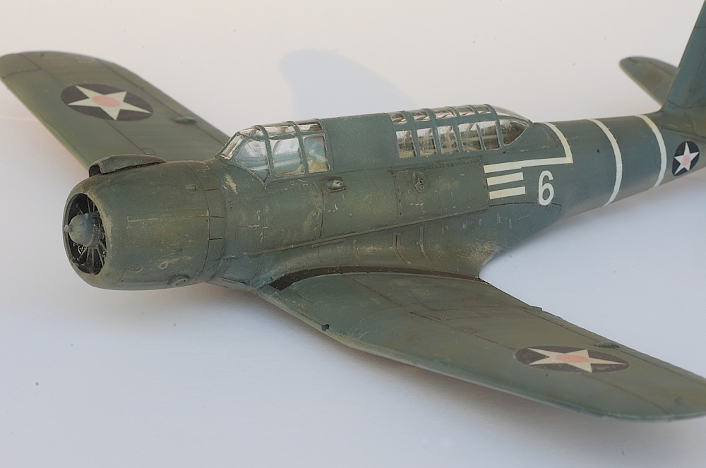 [Special Hobby] Vindicator Bataille de Midway 1/72  (peinture) _igp0549