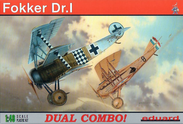 [Eduard] 1/48  Fokker DR. 1  Eduard10