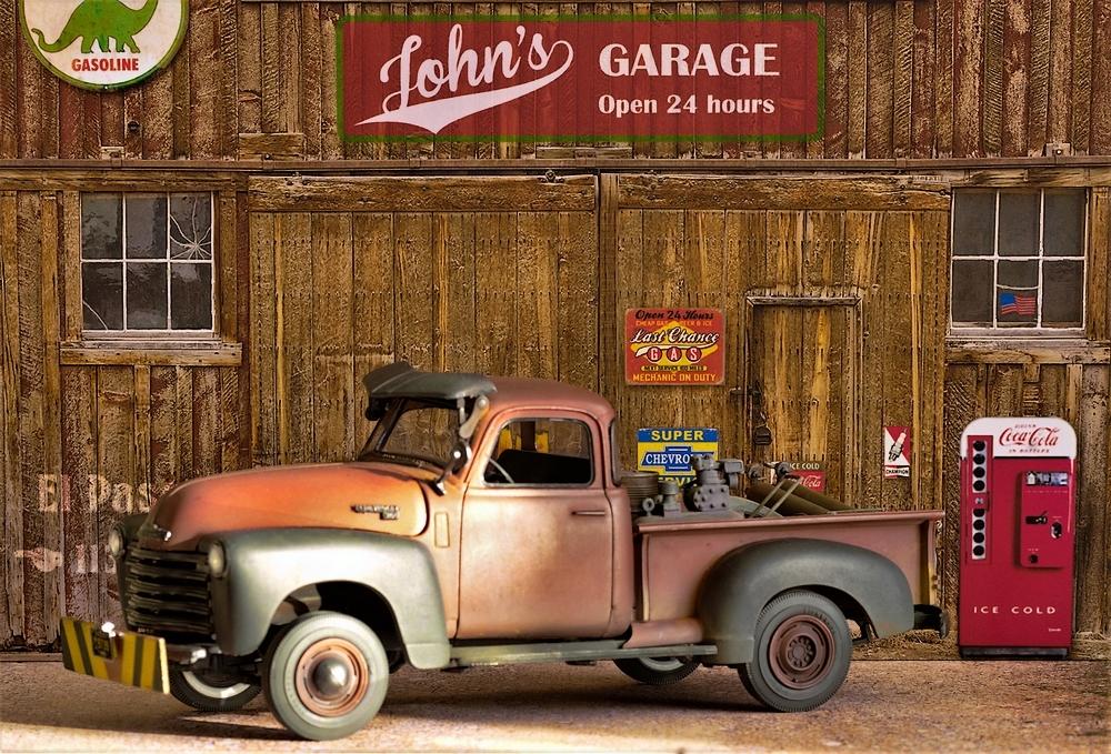 { AMT] 1/25 Chevrolet Pickup 3100 1950  (photos finales) Imgp0125