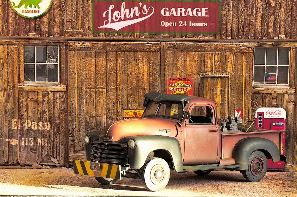 { AMT] 1/25 Chevrolet Pickup 3100 1950  (photos finales) Imgp0127