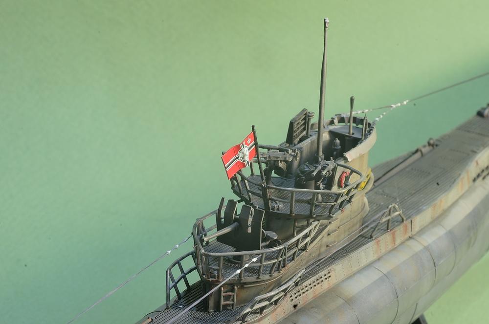 [ Revell ] U-Boot Kiel 1943 1/144 Imgp1111
