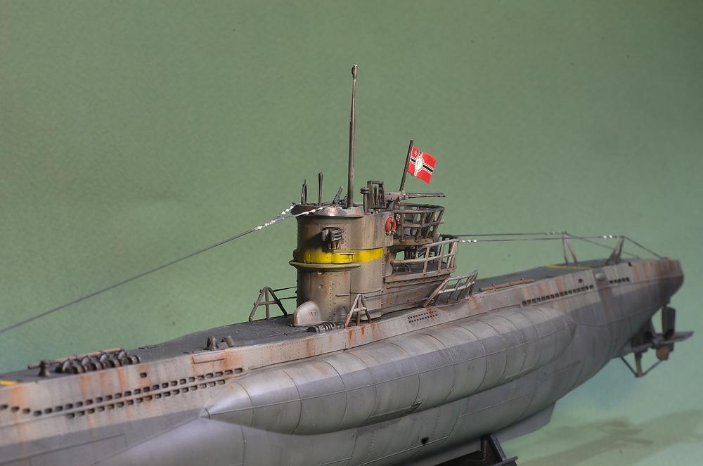 [ Revell ] U-Boot Kiel 1943 1/144 Imgp1115