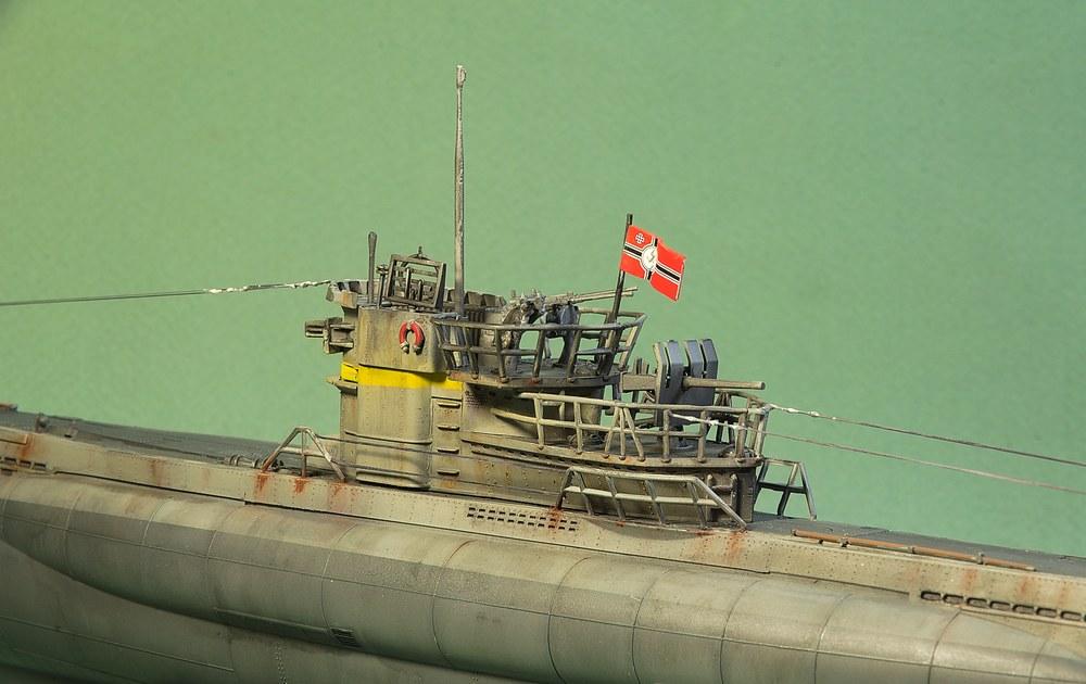 [ Revell ] U-Boot Kiel 1943 1/144 Imgp1116