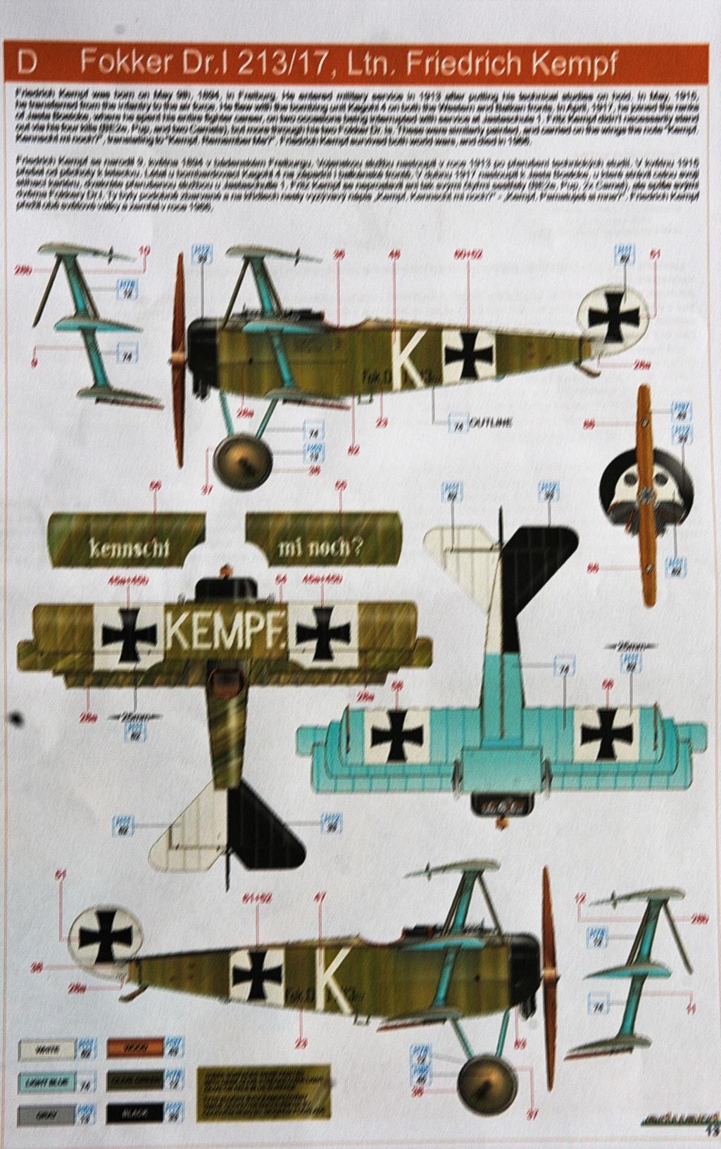 [Eduard] 1/48  Fokker DR. 1  Imgp9282