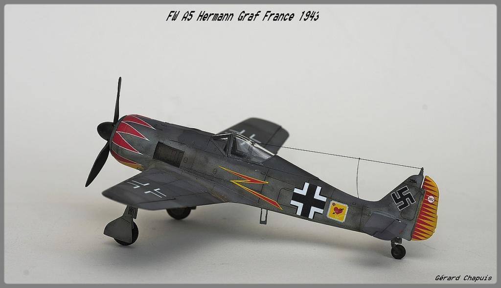 [Eduard] FW 190 A5 Hermann Graf 1/72 Imgp9511