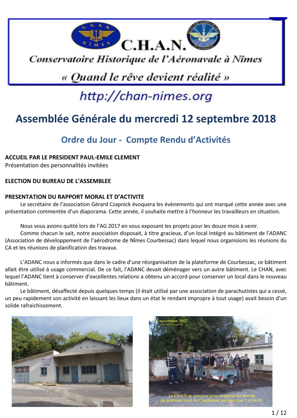 [Associations anciens marins] C.H.A.N.-Nîmes (Conservatoire Historique de l'Aéronavale-Nîmes) - Page 5 2018_010