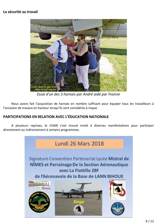 [Associations anciens marins] C.H.A.N.-Nîmes (Conservatoire Historique de l'Aéronavale-Nîmes) - Page 5 2018_018