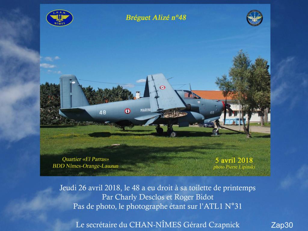 [Associations anciens marins] C.H.A.N.-Nîmes (Conservatoire Historique de l'Aéronavale-Nîmes) - Page 5 2018_111