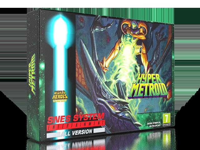"""Mon coup de cœur et premier fangame """"Hyper Metroid""""  11-hyp10"""