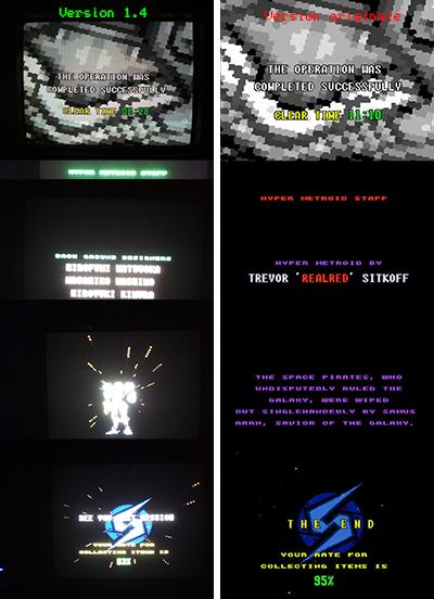 """Mon coup de cœur et premier fangame """"Hyper Metroid""""  111"""