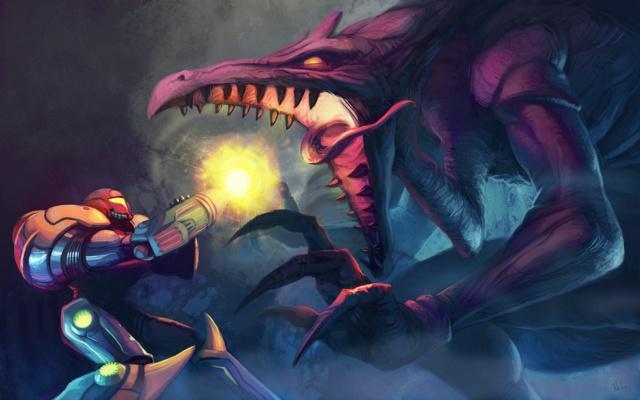 """Mon coup de cœur et premier fangame """"Hyper Metroid""""  37473510"""