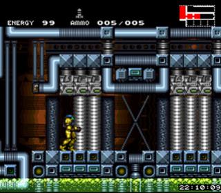 """Mon coup de cœur et premier fangame """"Hyper Metroid""""  B300f110"""