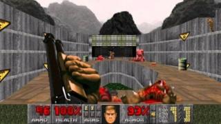 Le jeu auquel vous avez joué avec votre père. Doom-110