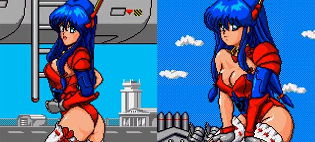 Le meilleur shmup ecchi de la Game Gear Griffi11