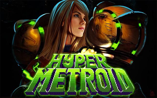 """Mon coup de cœur et premier fangame """"Hyper Metroid""""  Hypert10"""