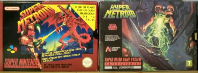 """Mon coup de cœur et premier fangame """"Hyper Metroid""""  Img_2747"""