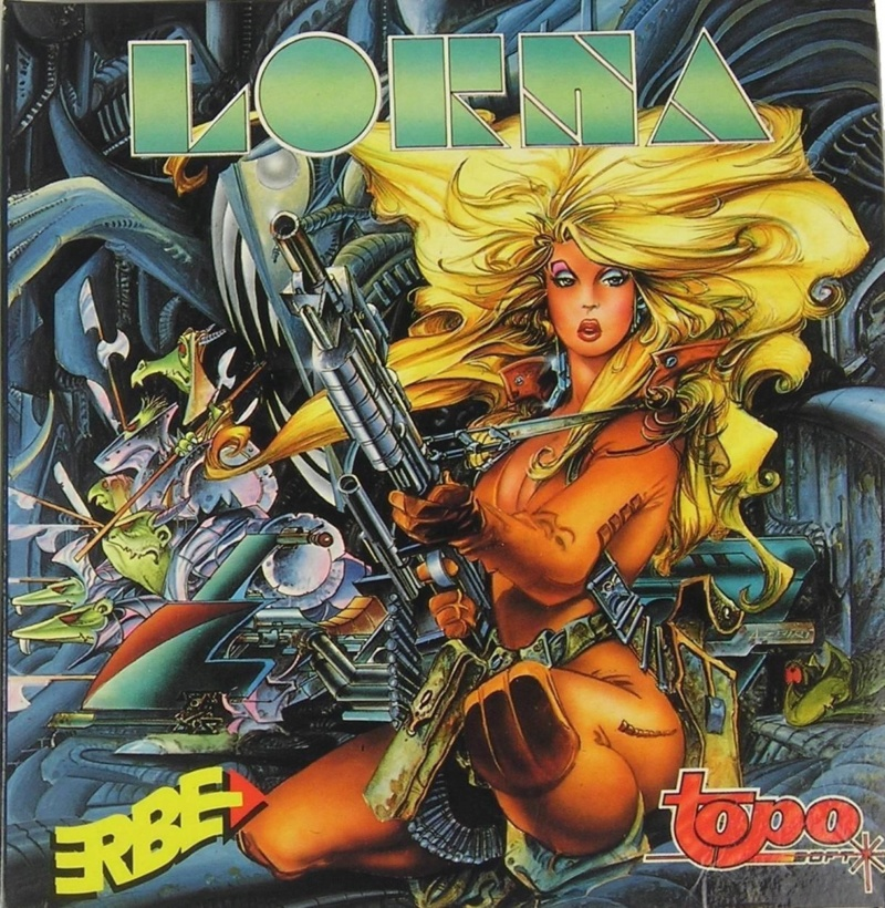 ACTION VIDEO GAME GIRLS 1980-90's Lorna10