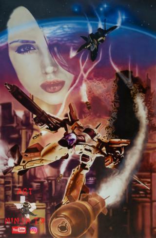 Gundam vs Macross Macros11