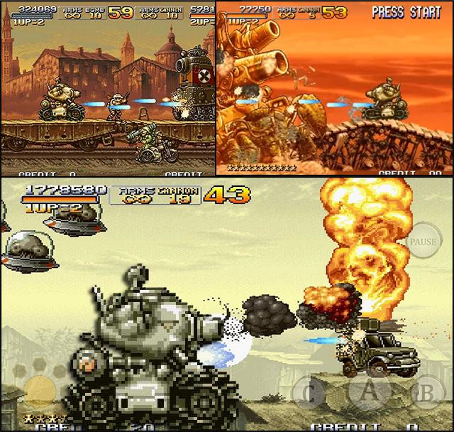 Les tanks dans les jeux vidéos Metal110