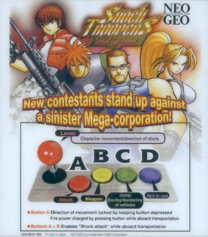 [MVS]Quels sont pour vous les plus beaux Artset/Marquee/Moves/... de la Neo Geo ? Shockt10