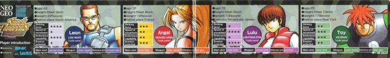[MVS]Quels sont pour vous les plus beaux Artset/Marquee/Moves/... de la Neo Geo ? Shockt11