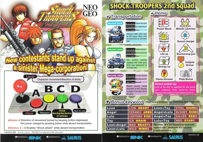 [MVS]Quels sont pour vous les plus beaux Artset/Marquee/Moves/... de la Neo Geo ? Shockt12