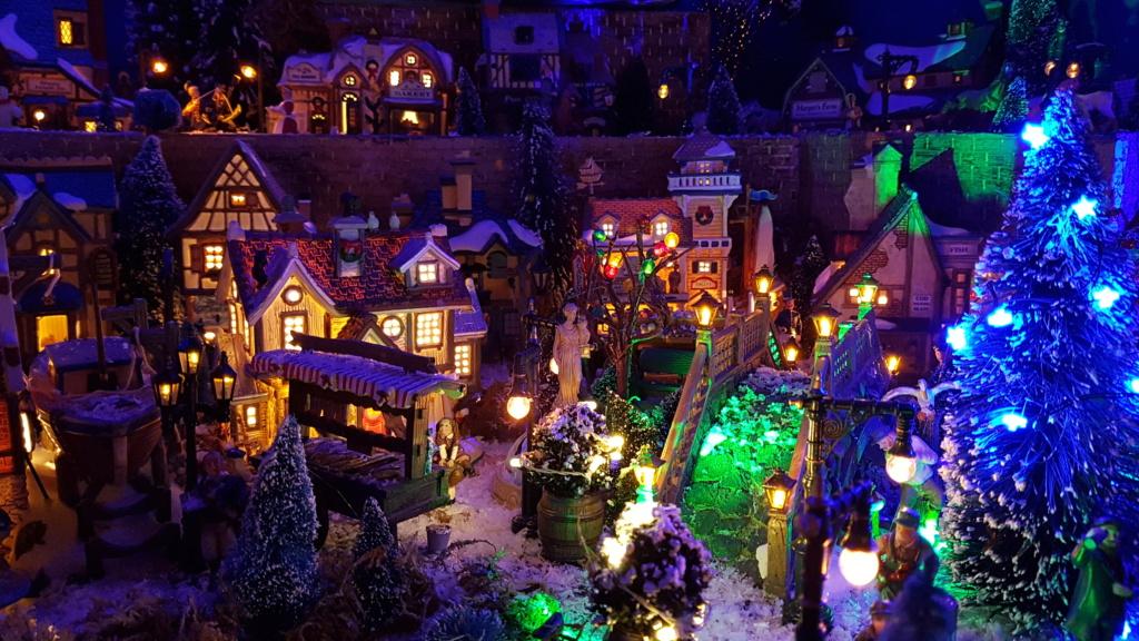 """ Noël bleu "" village Cathy 2020 20201114"