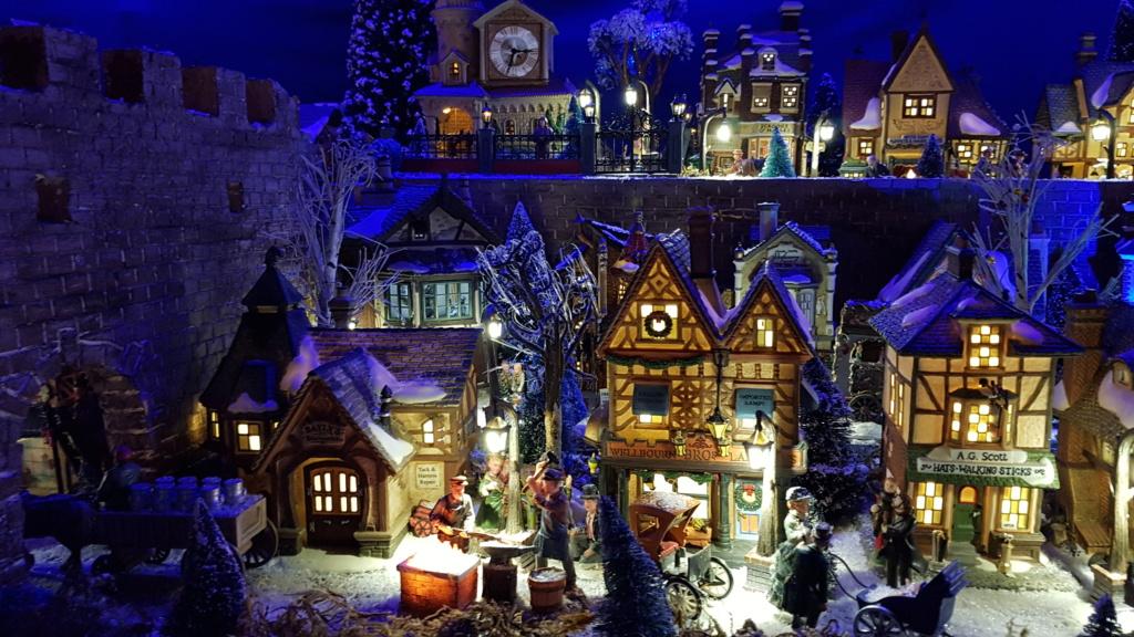 """ Noël bleu "" village Cathy 2020 20201119"