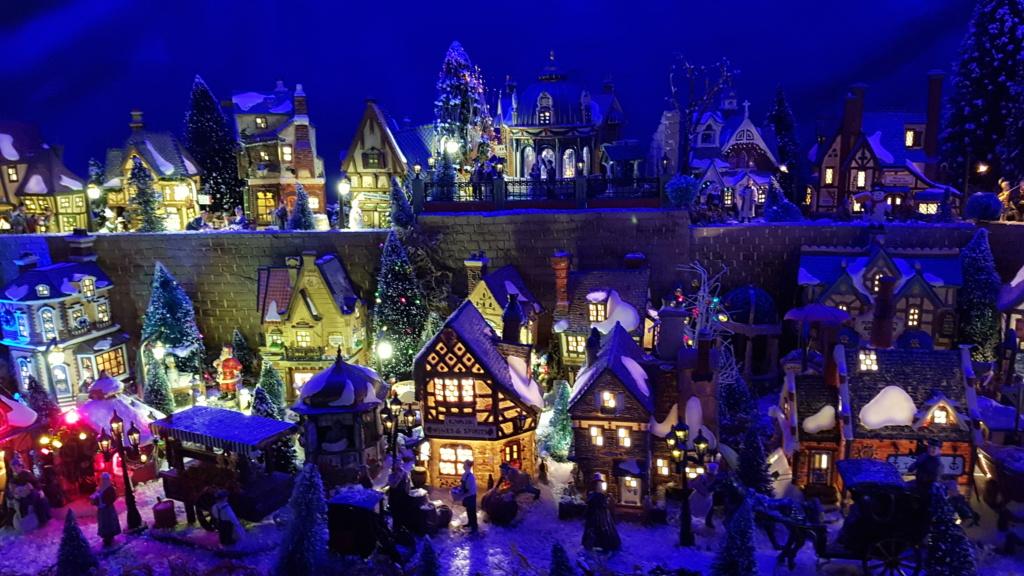 """ Noël bleu "" village Cathy 2020 20201123"