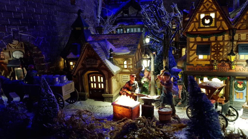 """ Noël bleu "" village Cathy 2020 20201124"