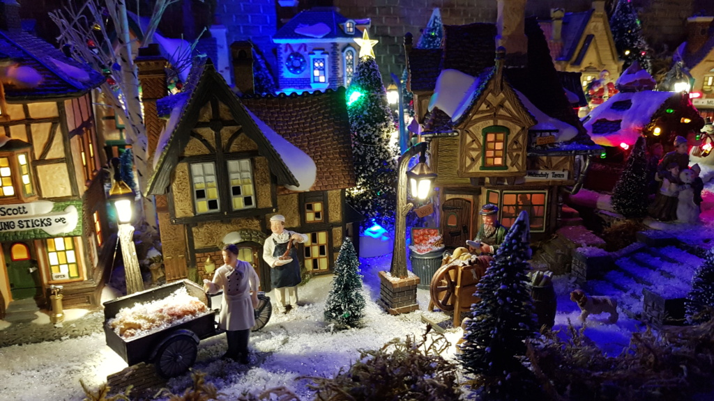 """ Noël bleu "" village Cathy 2020 20201125"