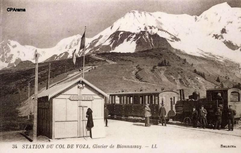 Le Tramway du Mont-Blanc : à l'assaut de la haute montagne 13681010