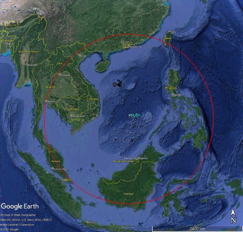 MER DE CHINE MERIDIONALE : la mainmise de la Chine... et le redécoupage des eaux territoriales 150010