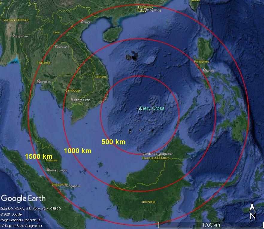 MER DE CHINE MERIDIONALE : la mainmise de la Chine... et le redécoupage des eaux territoriales 150011