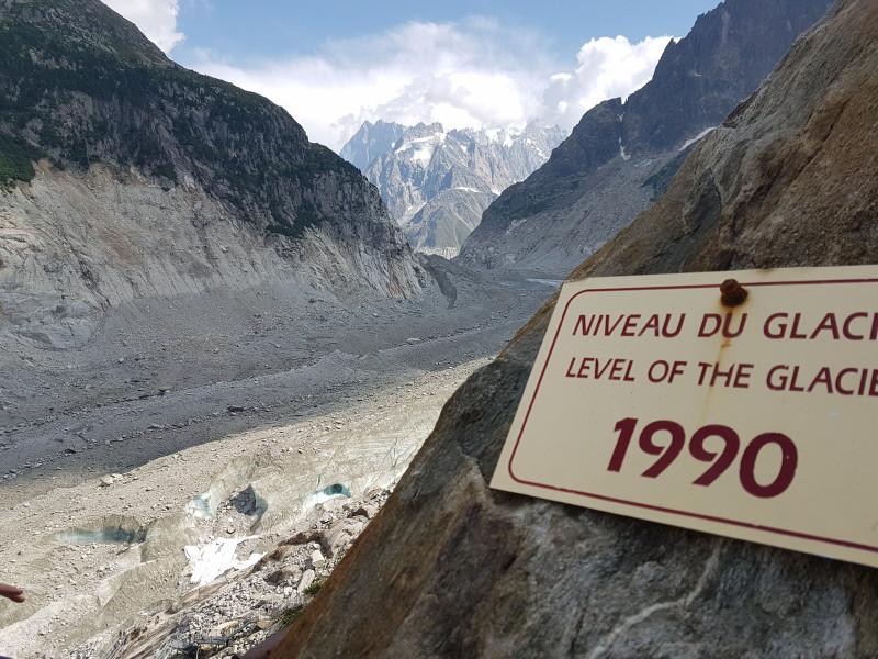 Mer de Glace : dernières photos avant disparition totale 199010