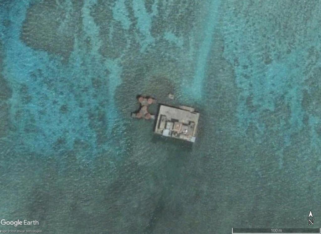 MER DE CHINE MERIDIONALE : la mainmise de la Chine... et le redécoupage des eaux territoriales 199410