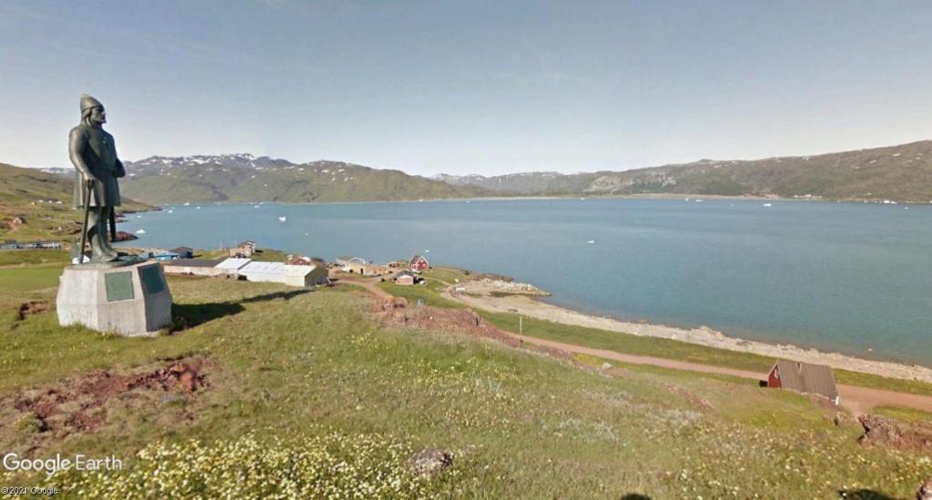 Traversée d'Qassiarsuk vers Narsarsuaq, Kujalleq au Groenland. 1erik10